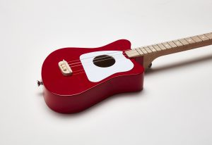 Loog Guitar Red